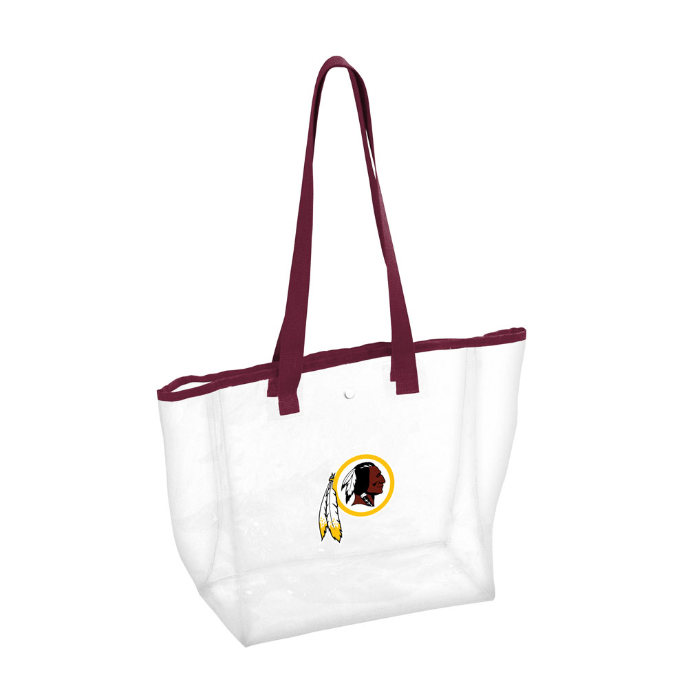 Washington Redskins Clear Stadium Tote
