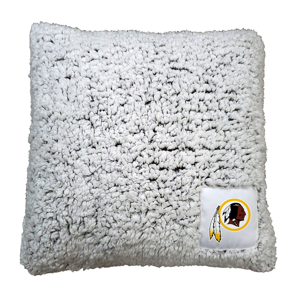 Washington Redskins Frosty Throw Pillow