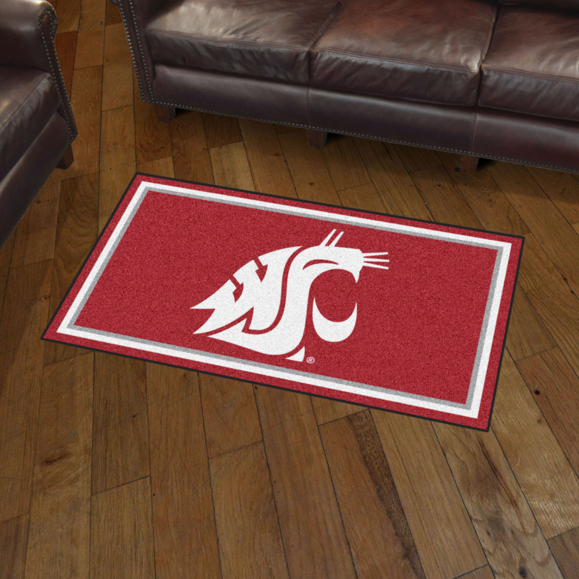 Washington State Cougars 3x5 Area Rug