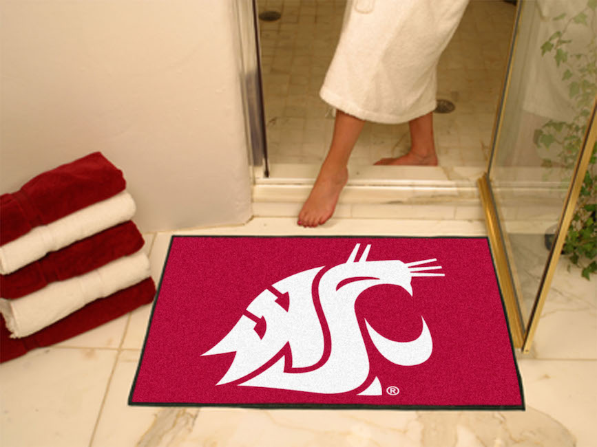 Washington State Cougars ALL STAR 34 x 45 Floor Mat