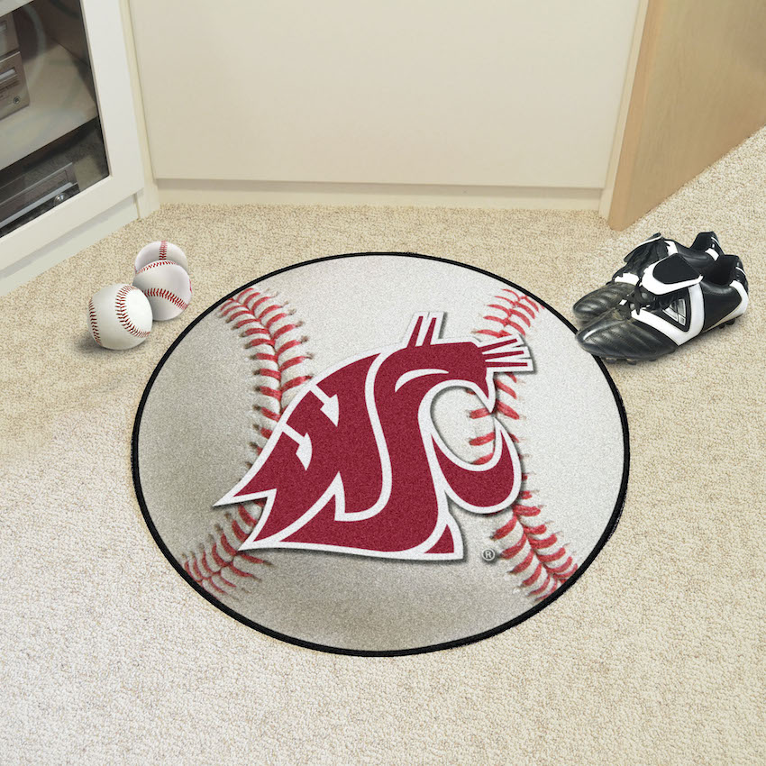 Washington State Cougars BASEBALL Mat