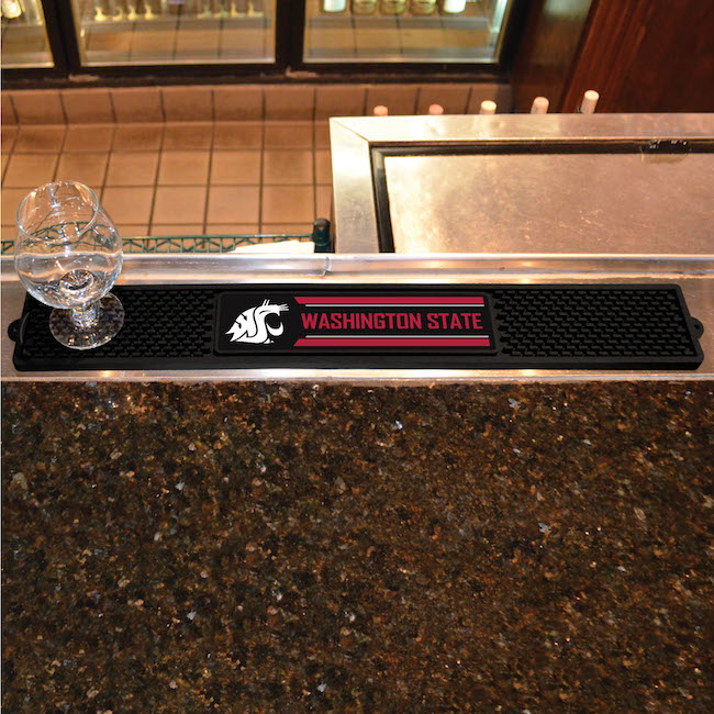 Washington State Cougars Bar Drink Mat