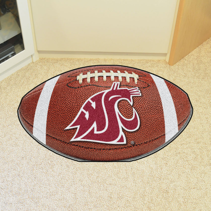 Washington State Cougars 22 x 35 FOOTBALL Mat