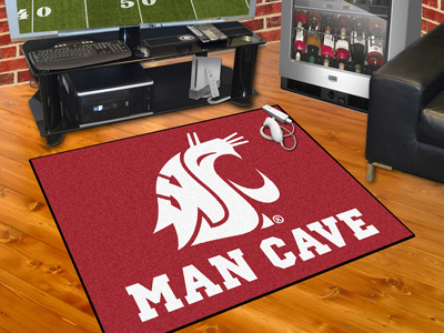 Washington State Cougars ALL STAR 34 x 45 MAN CAVE Floor Mat