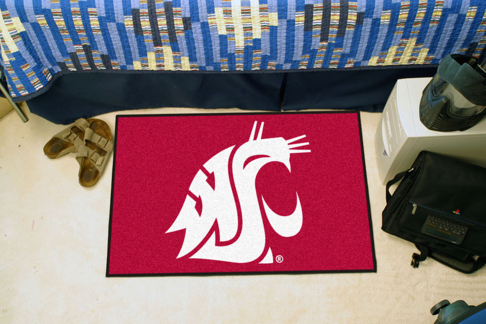Washington State Cougars 20 x 30 STARTER Floor Mat