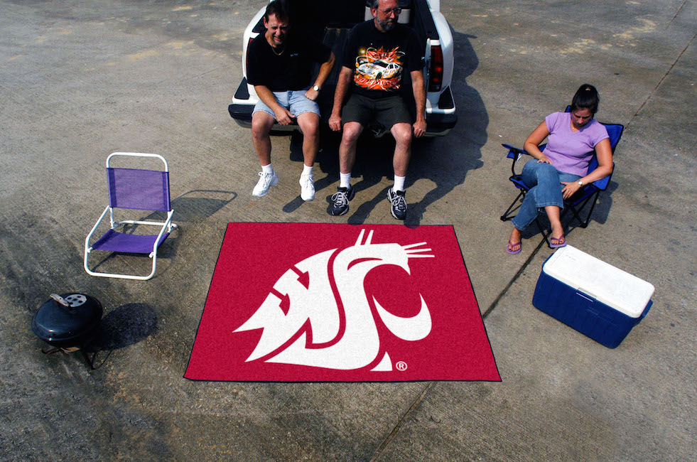 Washington State Cougars TAILGATER 60 x 72 Rug