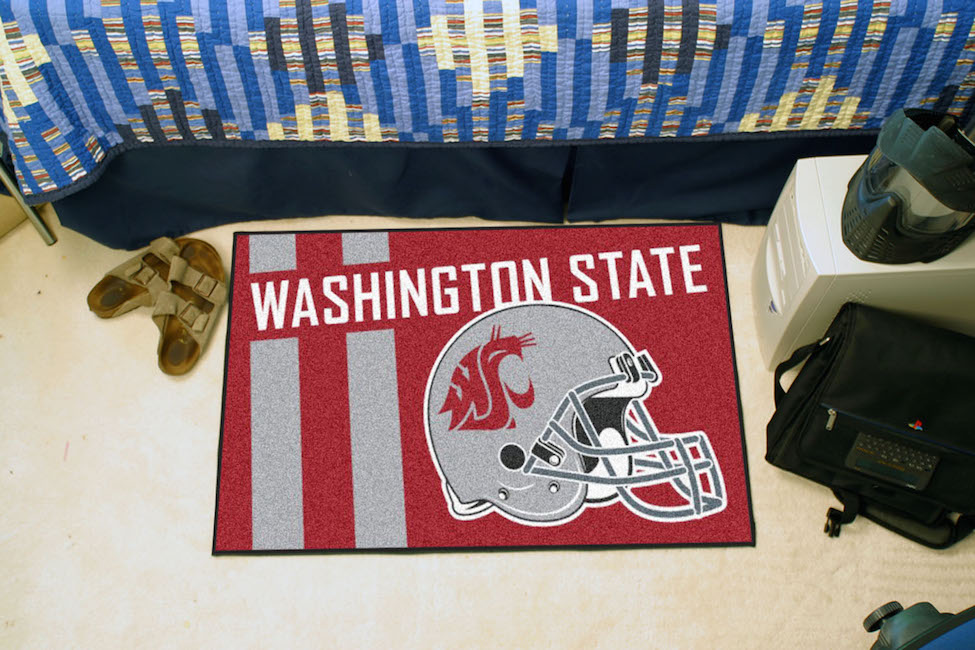 Washington State Cougars 20 x 30 Uniform STARTER Floor Mat