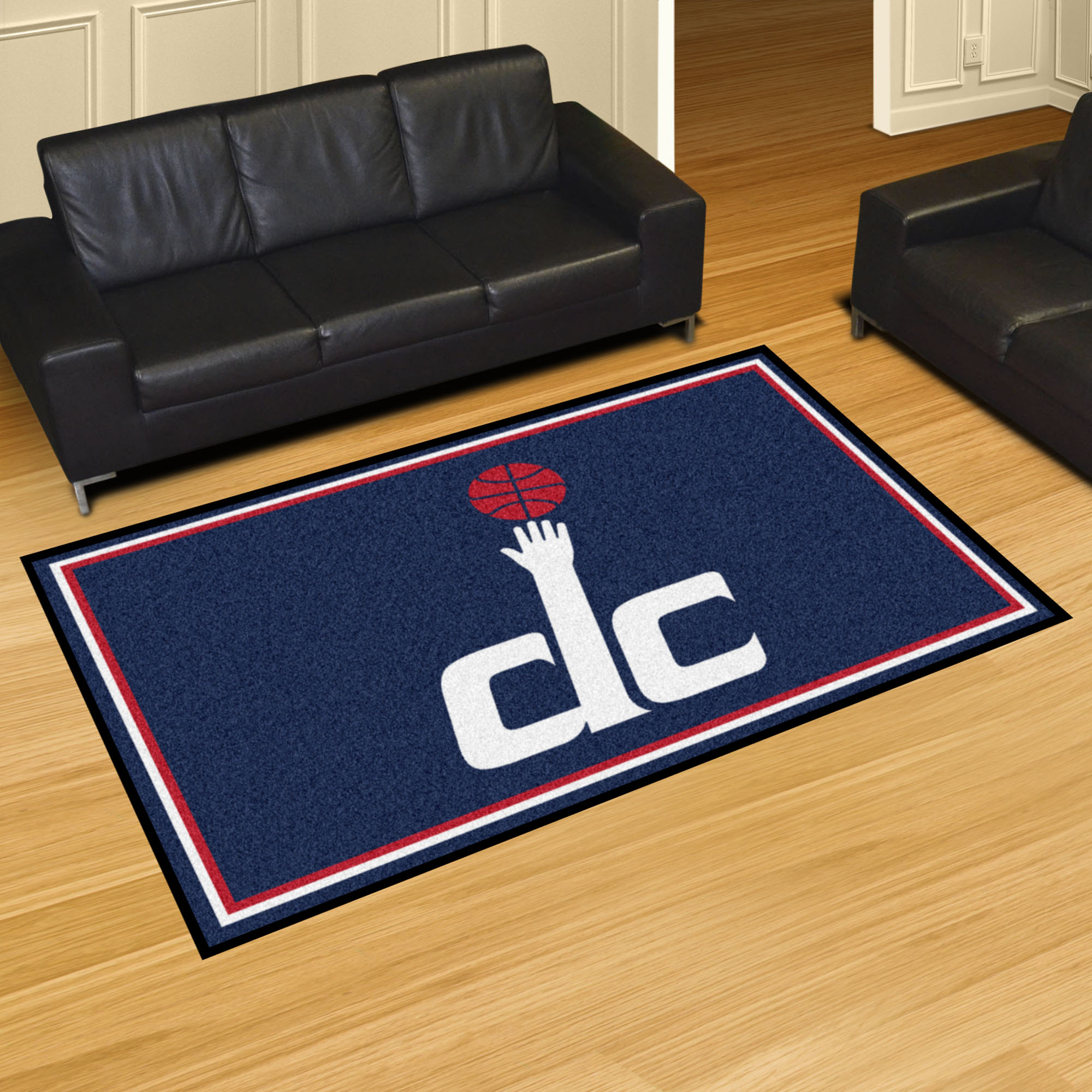 Washington Wizards 5x8 Area Rug
