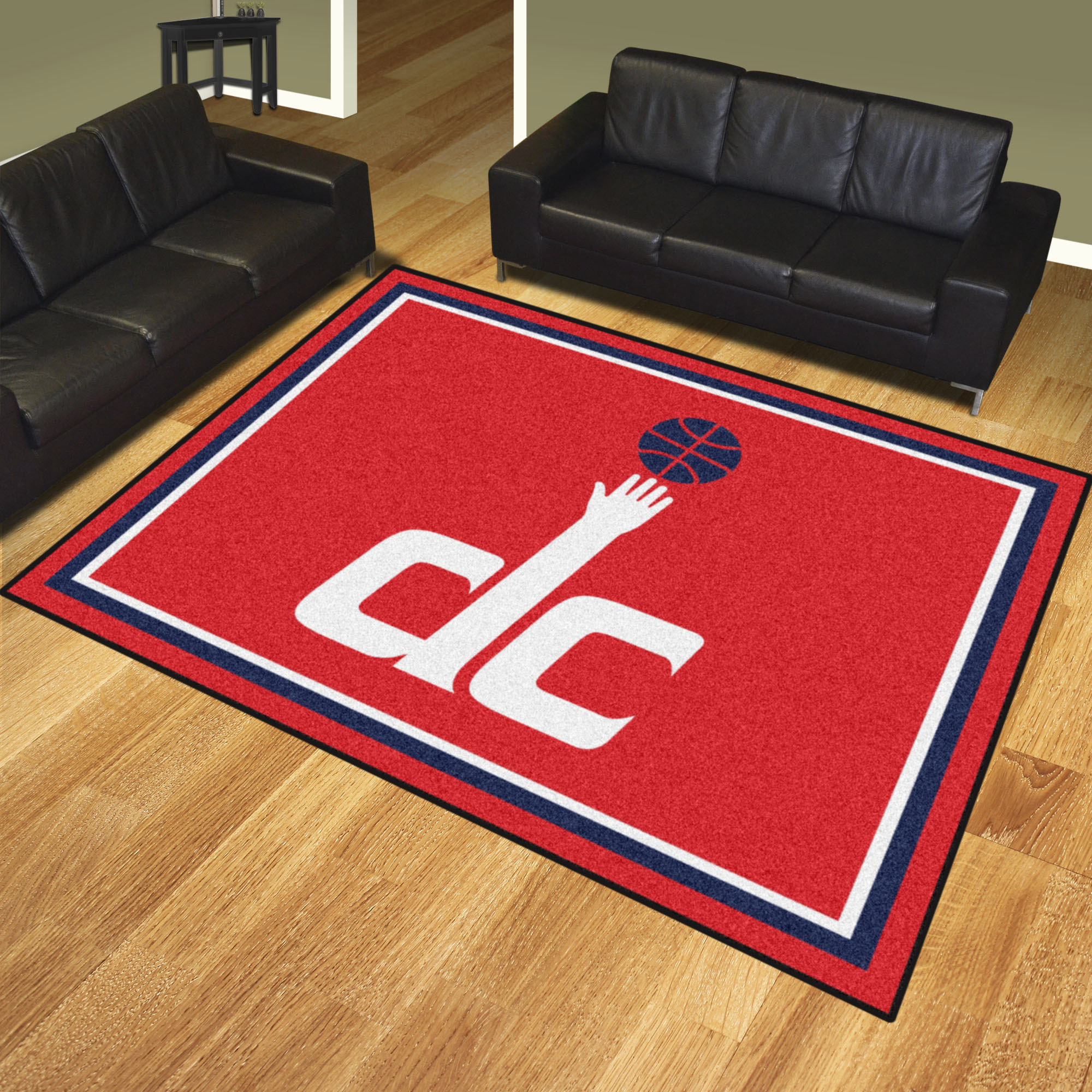 Washington Wizards Ultra Plush 8x10 Area Rug
