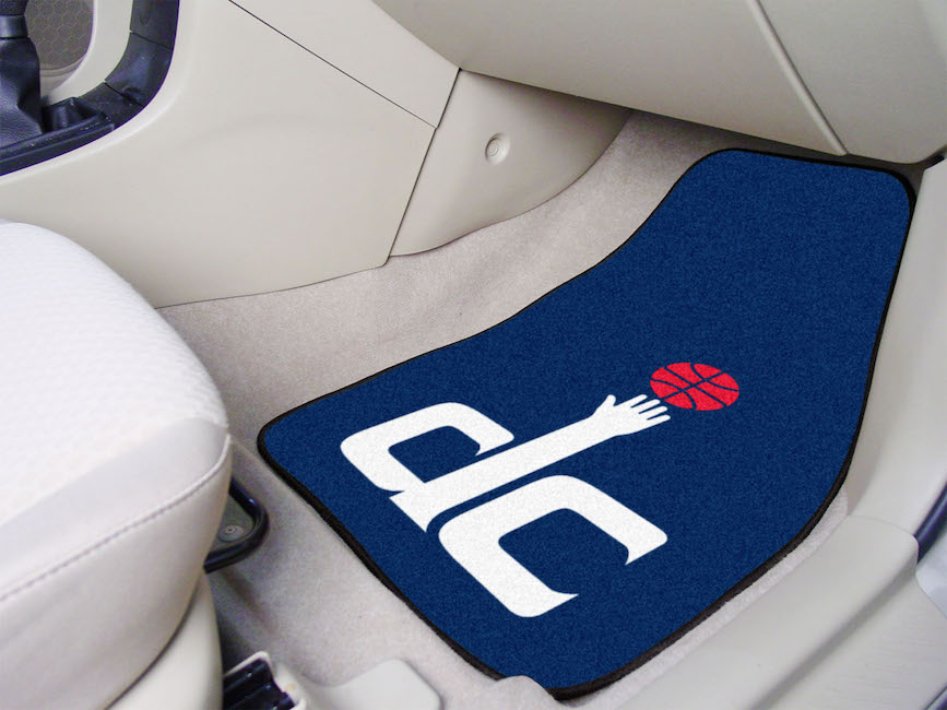 Washington Wizards Car Floor Mats 18 x 27 Carpeted-Pair