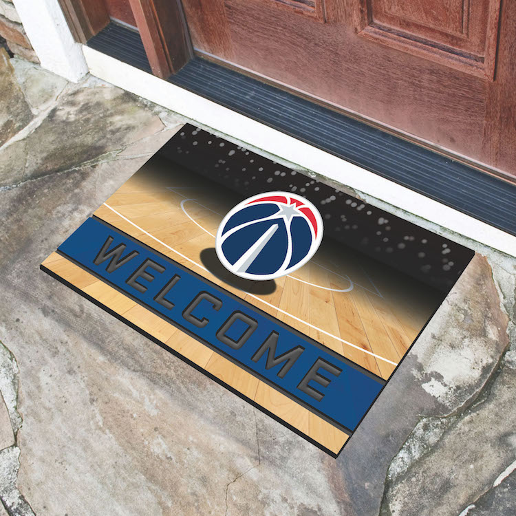 Washington Wizards Recycled Crumb Rubber Door Mat