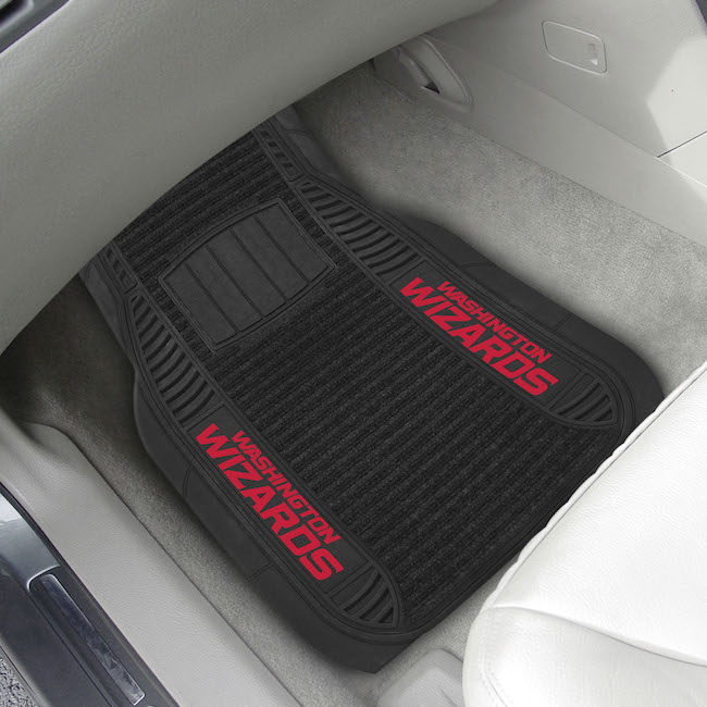Washington Wizards Deluxe 20 x 27 Car Floor Mats