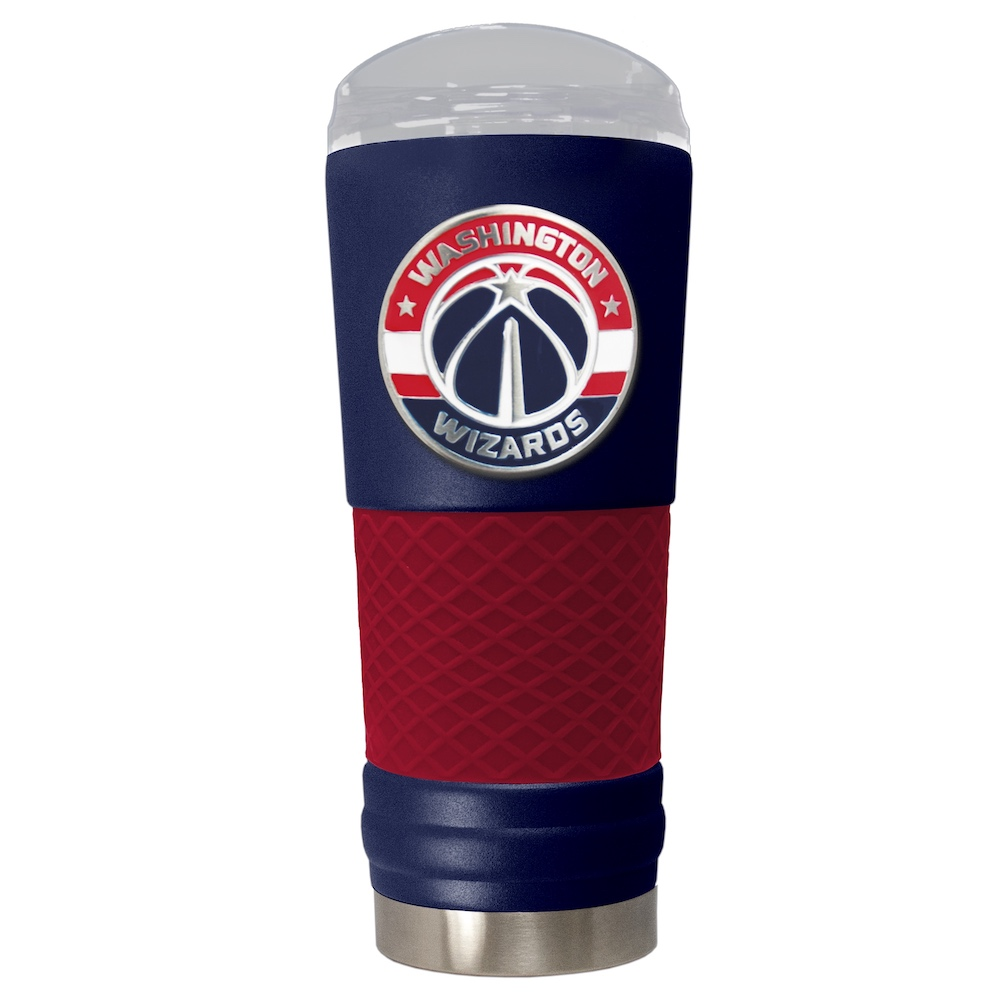 Washington Wizards 24 oz DRAFT SERIES NBA Powder Coated Insulated Travel Tumbler