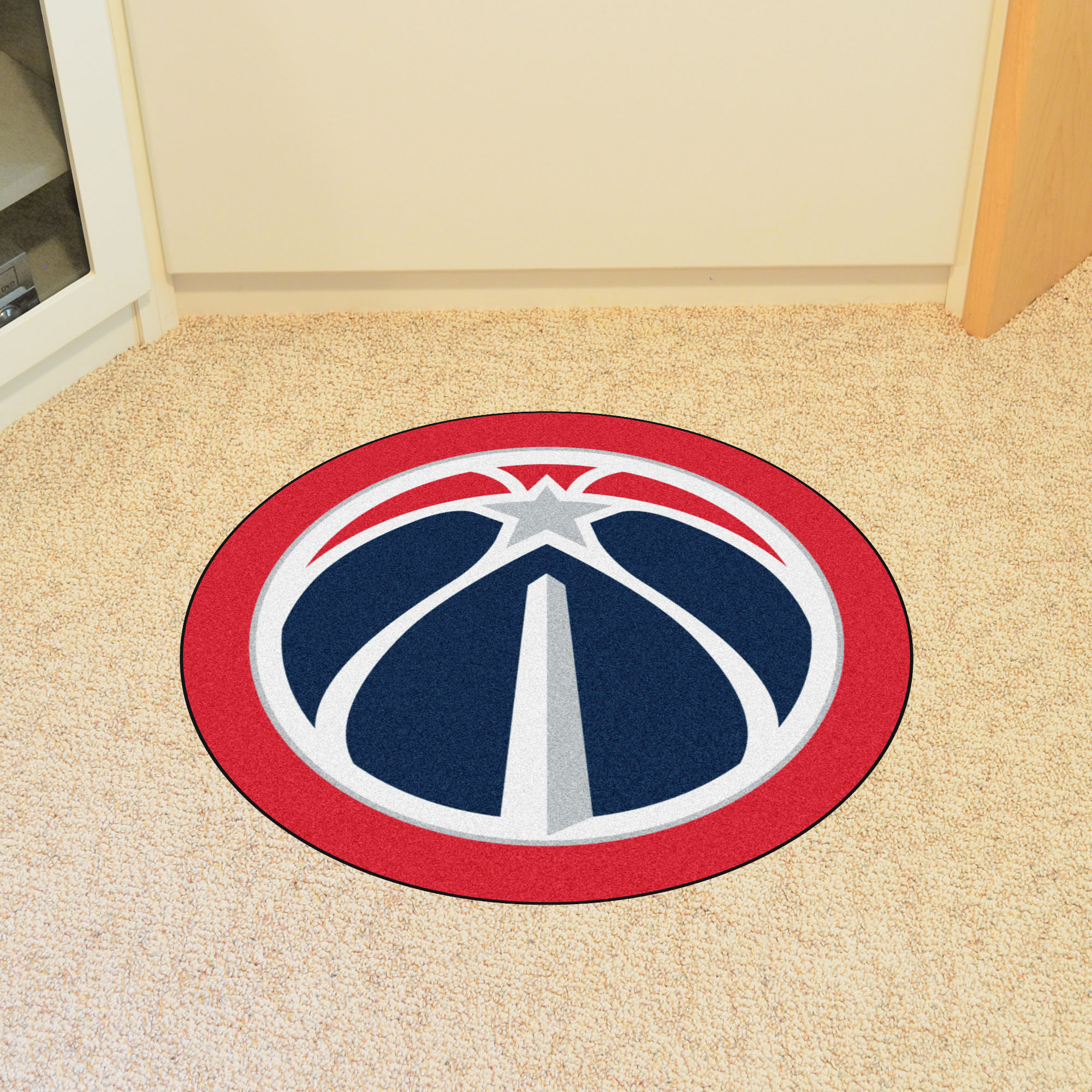 Washington Wizards NBA Mascot Mat