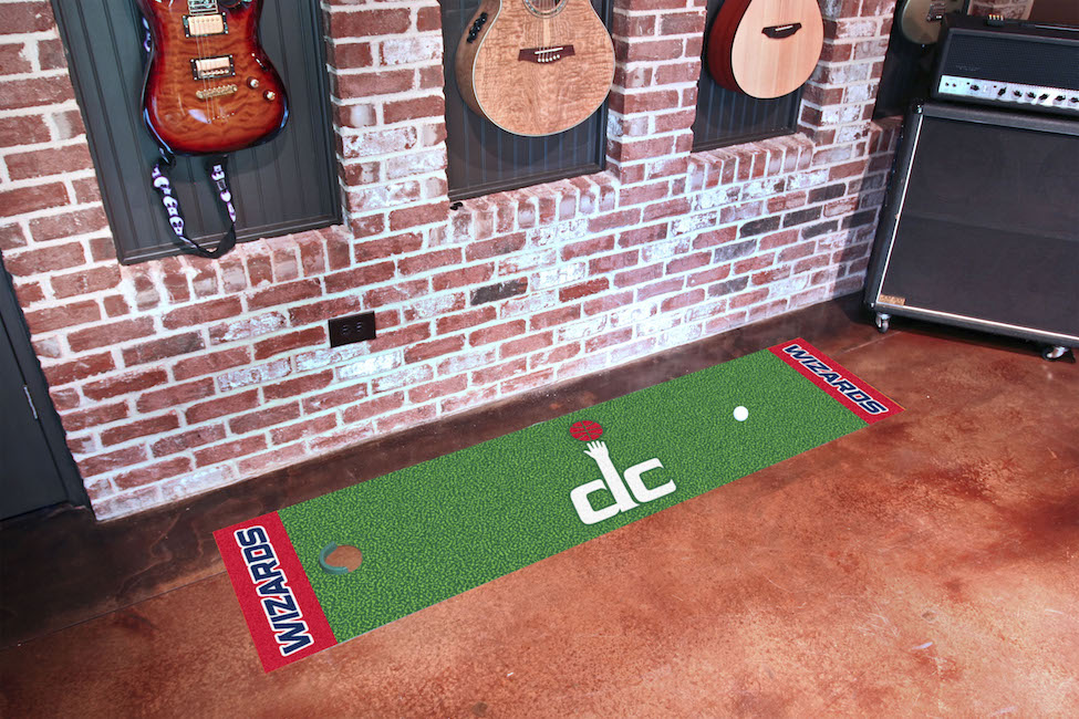 Washington Wizards Putting Green Mat 18 x 72