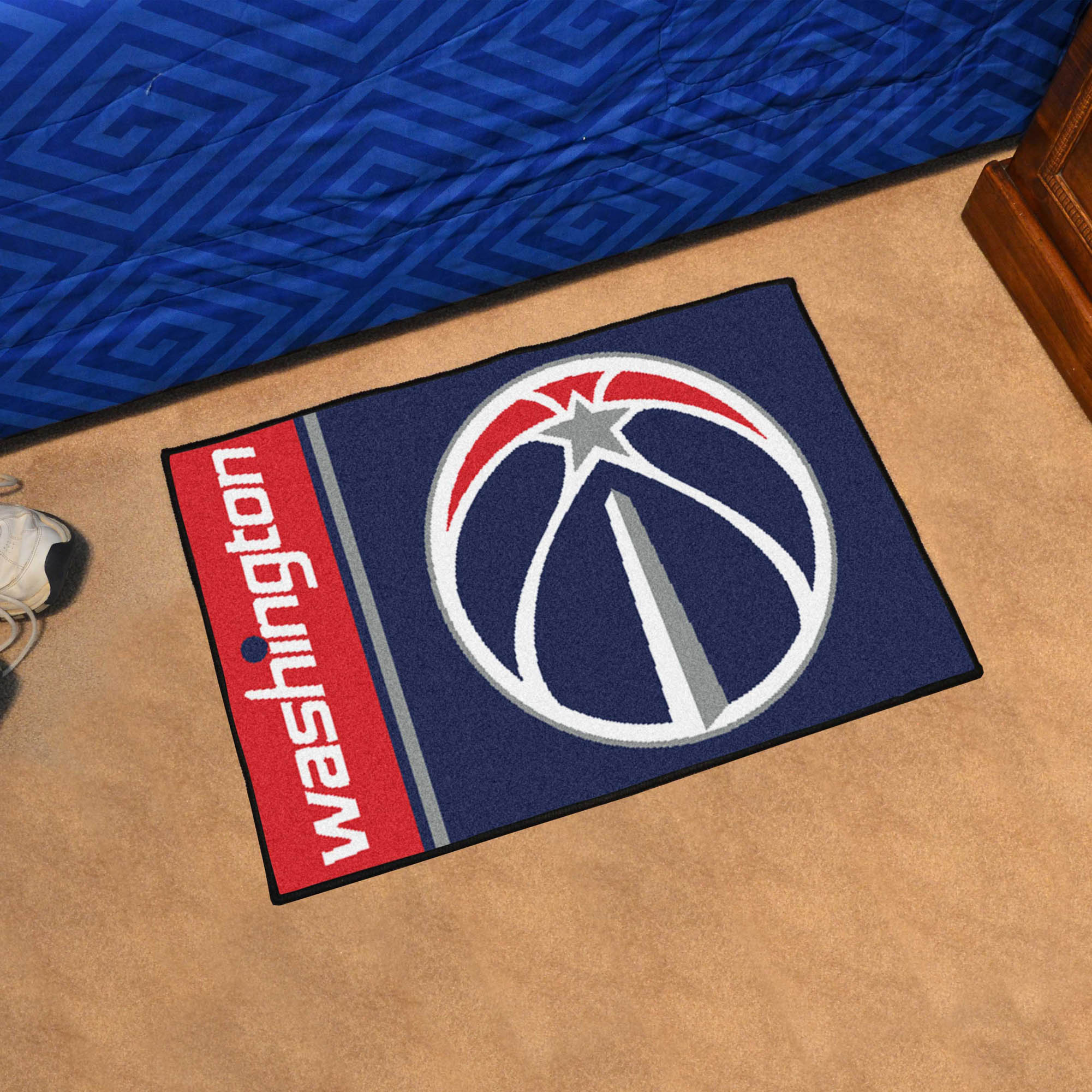 Washington Wizards 20 x 30 Uniform Inspired Starter Rug
