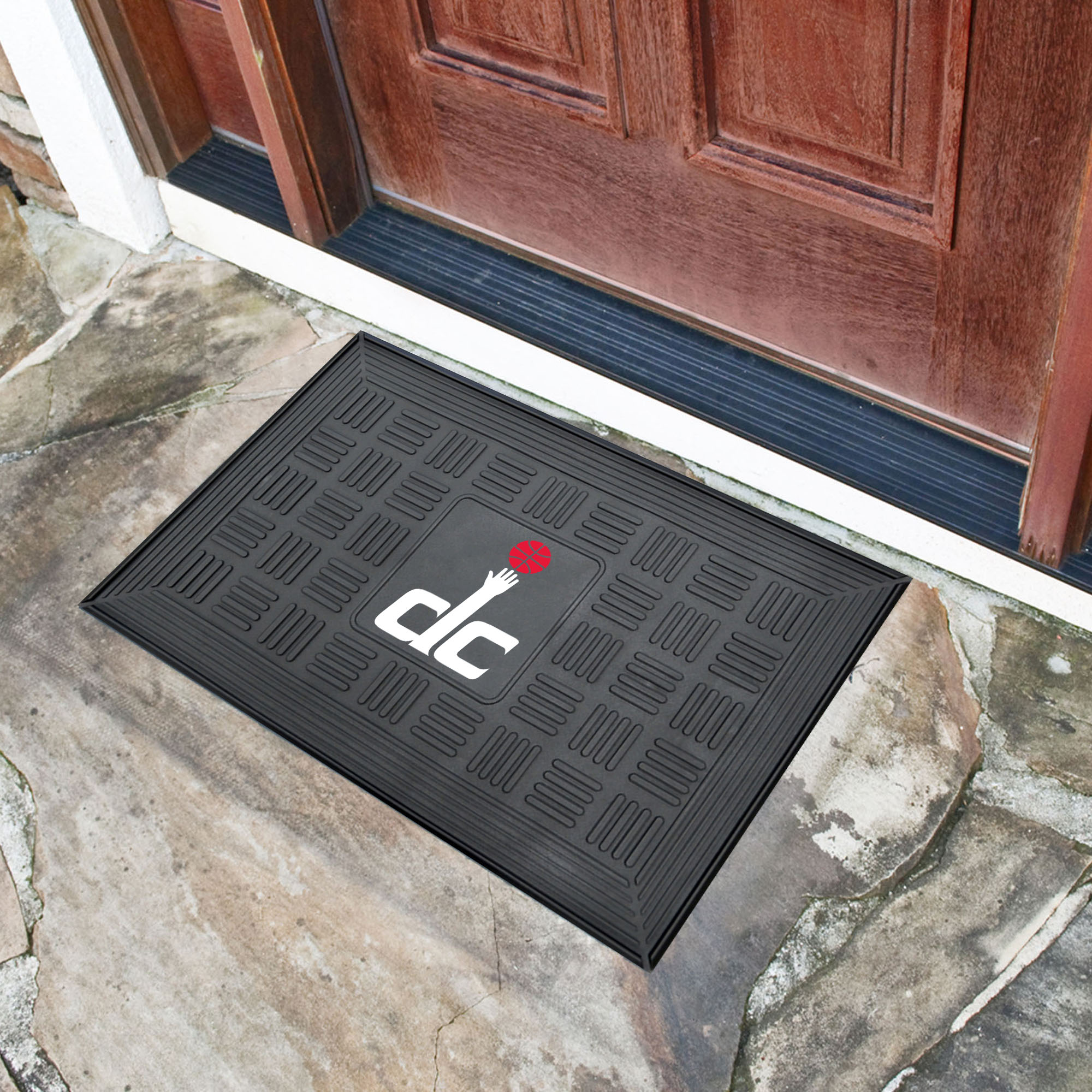 Washington Wizards MEDALLION Vinyl Door Mat