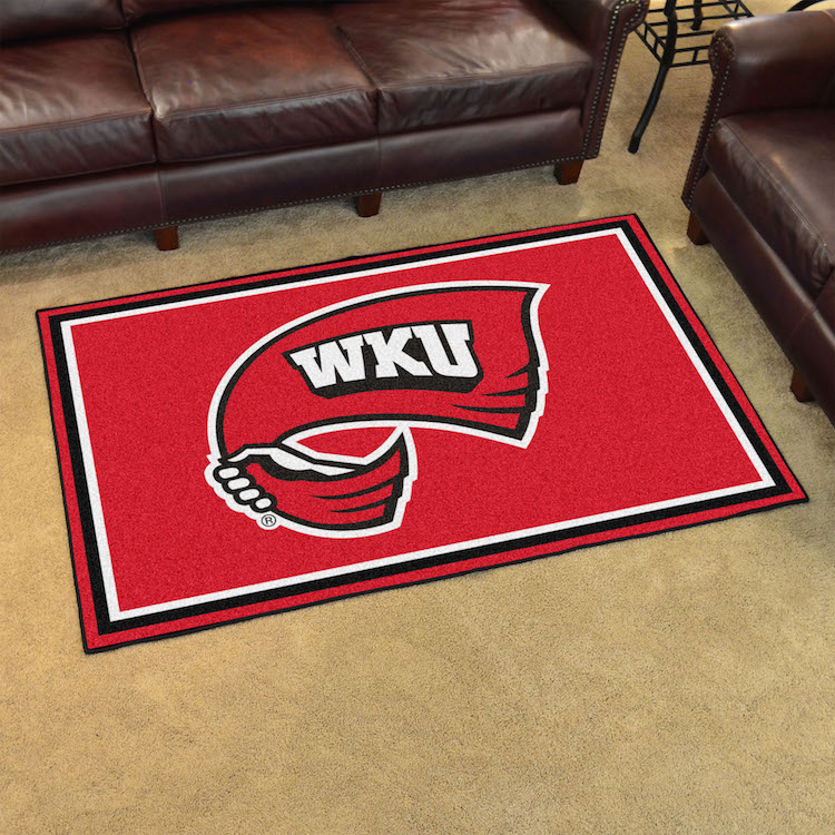 Western Kentucky Hilltoppers 4x6 Area Rug