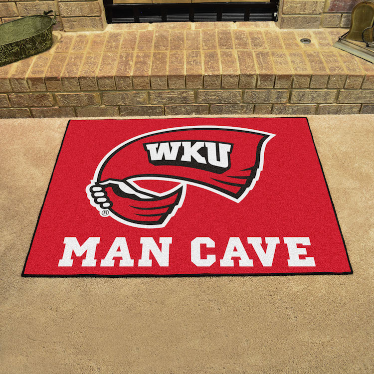 Western Kentucky Hilltoppers ALL STAR 34 x 45 MAN CAVE Floor Mat