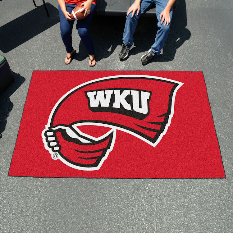 Western Kentucky Hilltoppers TAILGATER 60 x 72 Rug