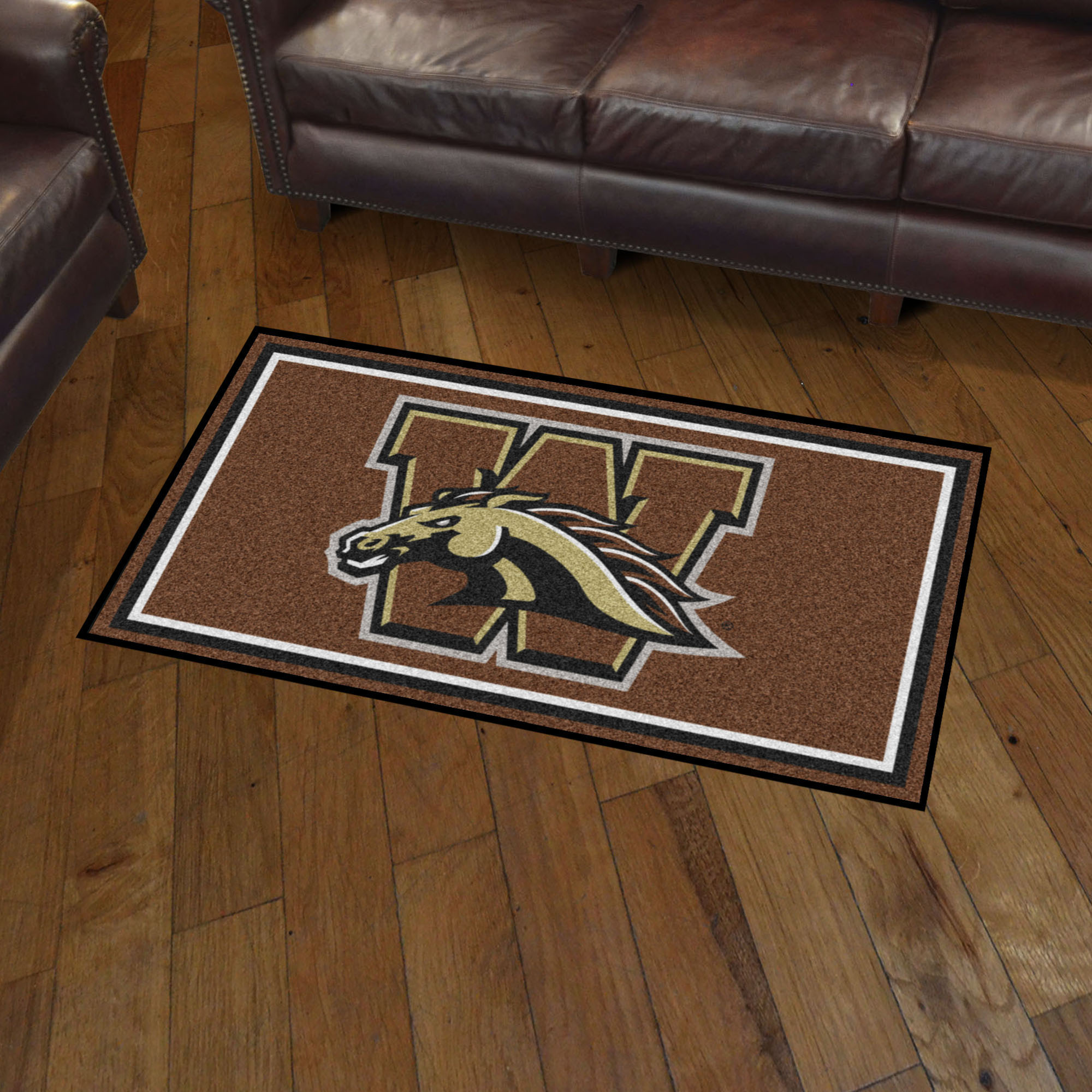 Western Michigan Broncos 3x5 Area Rug