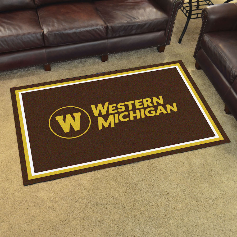 Western Michigan Broncos 4x6 Area Rug