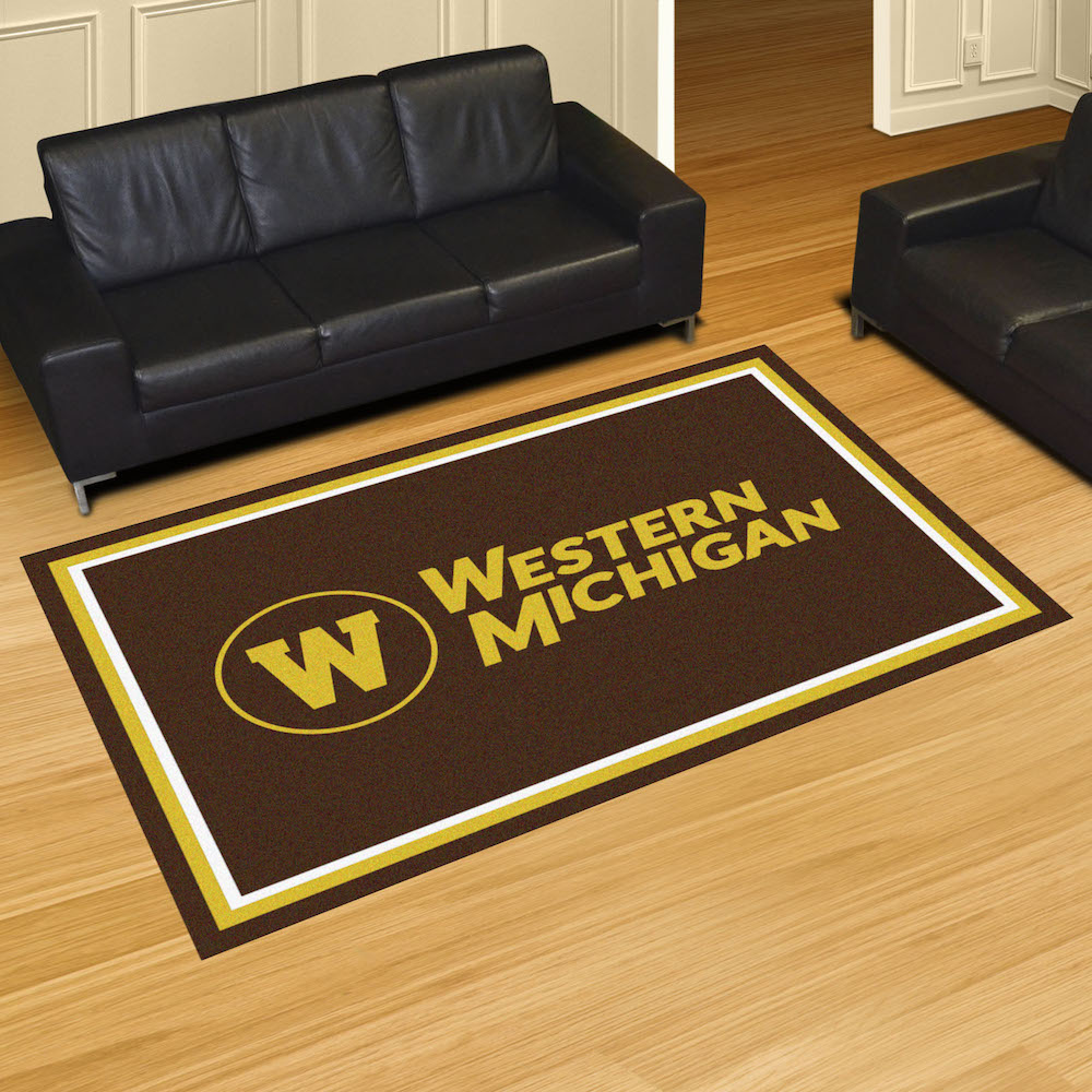Western Michigan Broncos 5x8 Area Rug