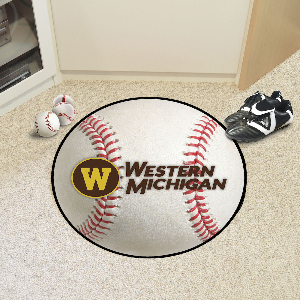 Western Michigan Broncos BASEBALL Mat