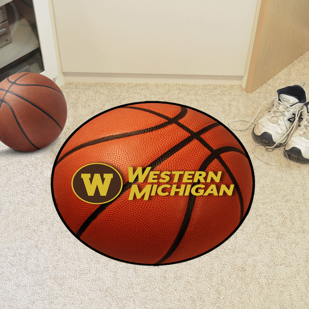 Western Michigan Broncos BASKETBALL Mat