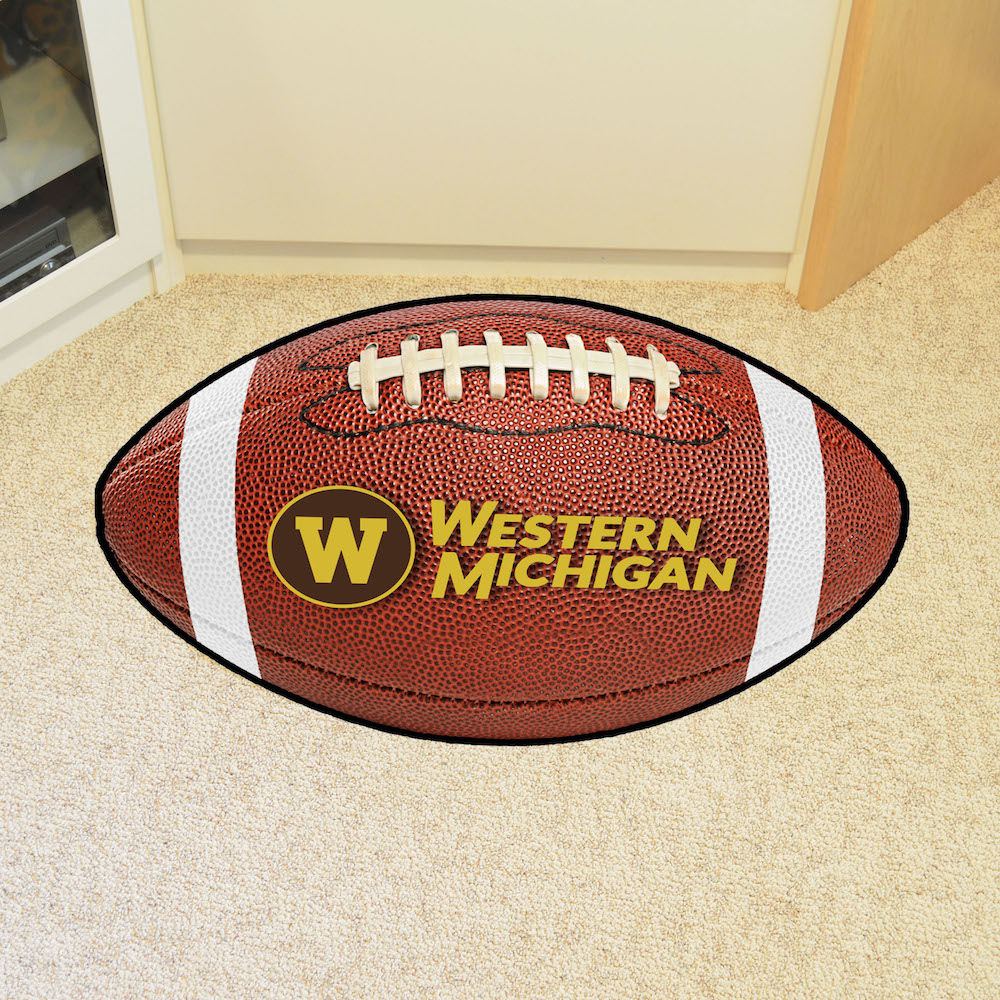 Western Michigan Broncos 22 x 35 FOOTBALL Mat