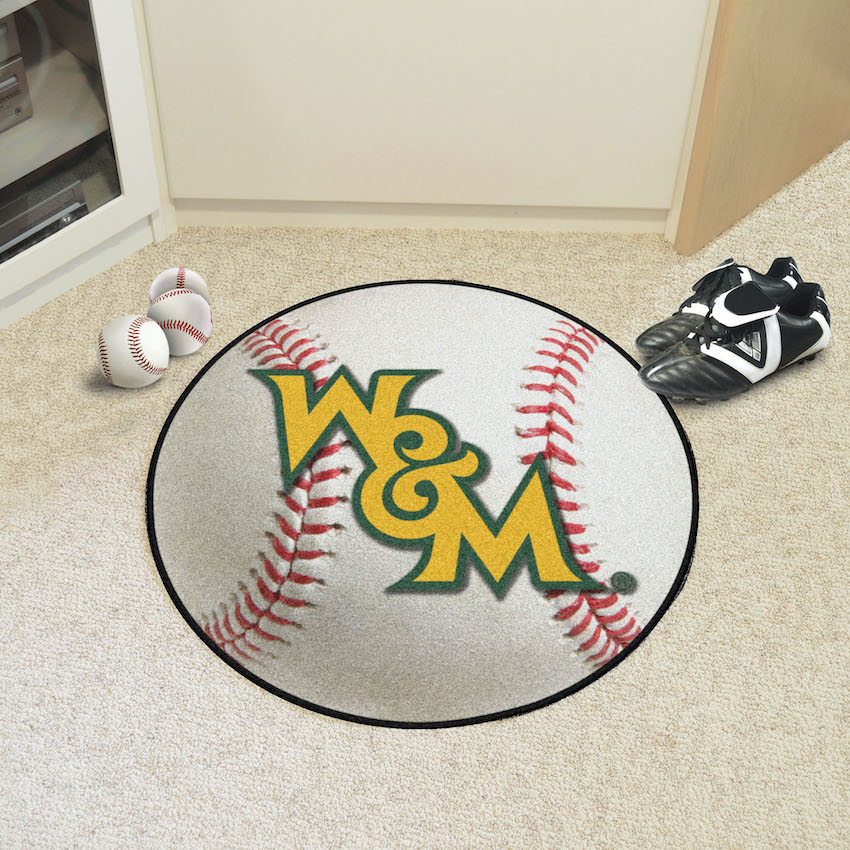 William and Mary Tribe BASEBALL Mat