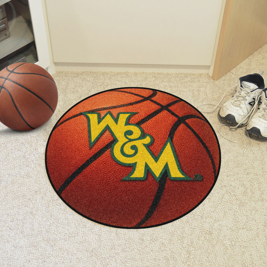 William and Mary Tribe BASKETBALL Mat