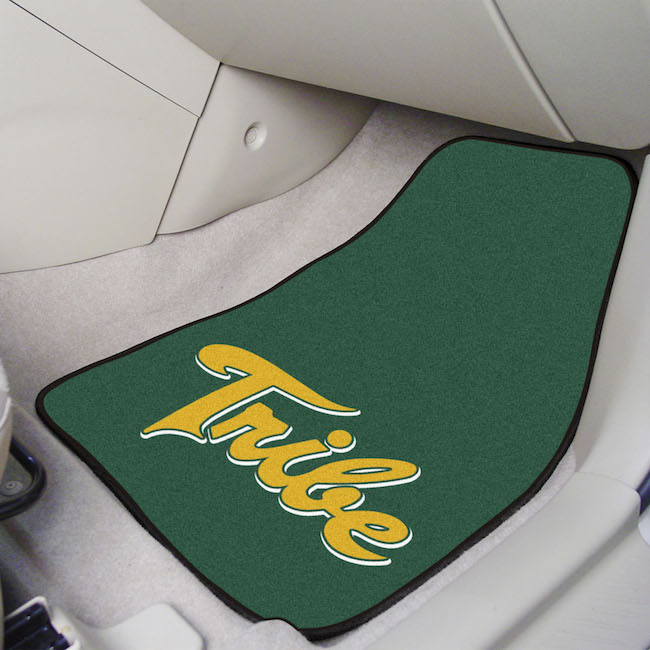 William and Mary Tribe Car Floor Mats 18 x 27 Carpeted-Pair