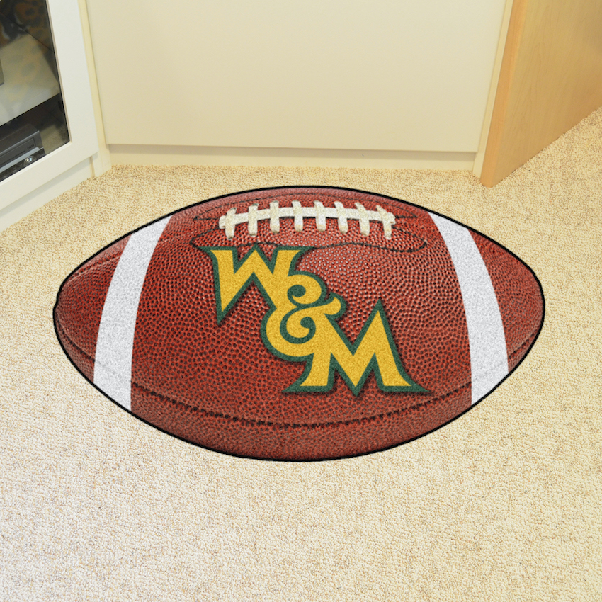 William and Mary Tribe 22 x 35 FOOTBALL Mat