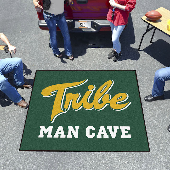 William and Mary Tribe MAN CAVE TAILGATER 60 x 72 Rug