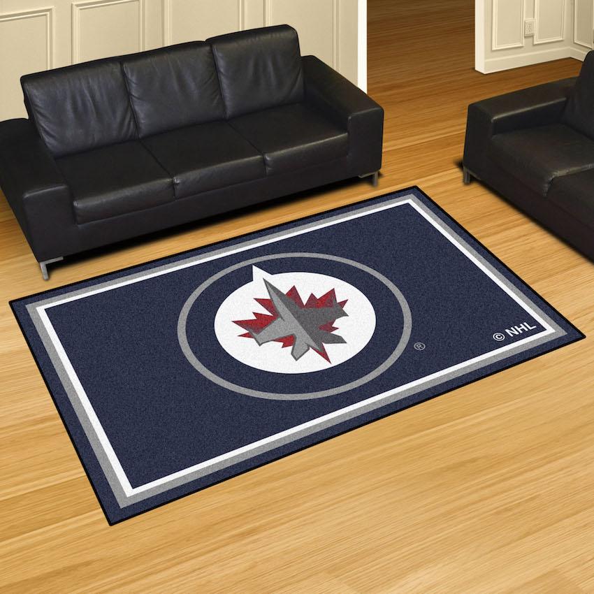 Winnipeg Jets 5x8 Area Rug At Khc Sports