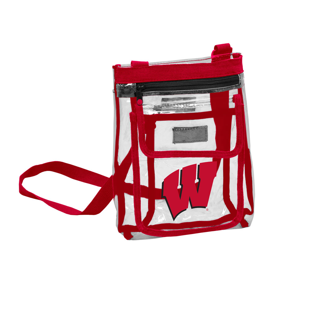 Wisconsin Badgers GAMEDAY Clear Cross Body Pack