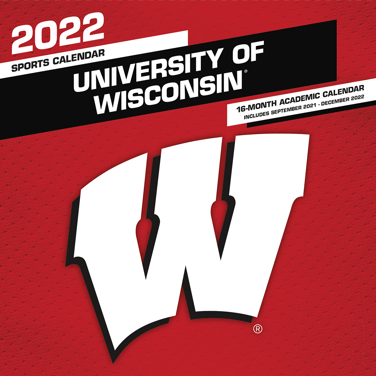 Wisconsin Badgers 2020 Wall Calendar