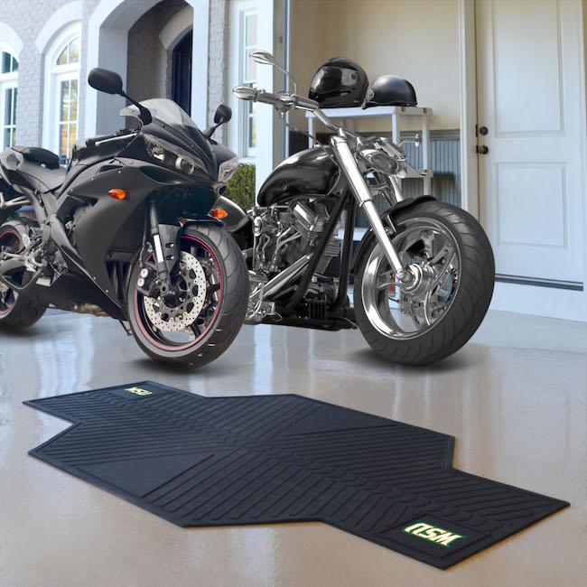 Wright State Raiders Motorcycle Mat