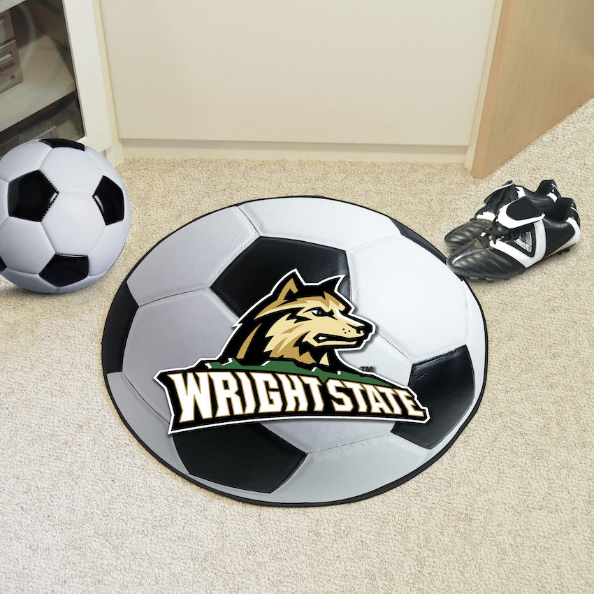 Wright State Raiders SOCCER BALL Mat