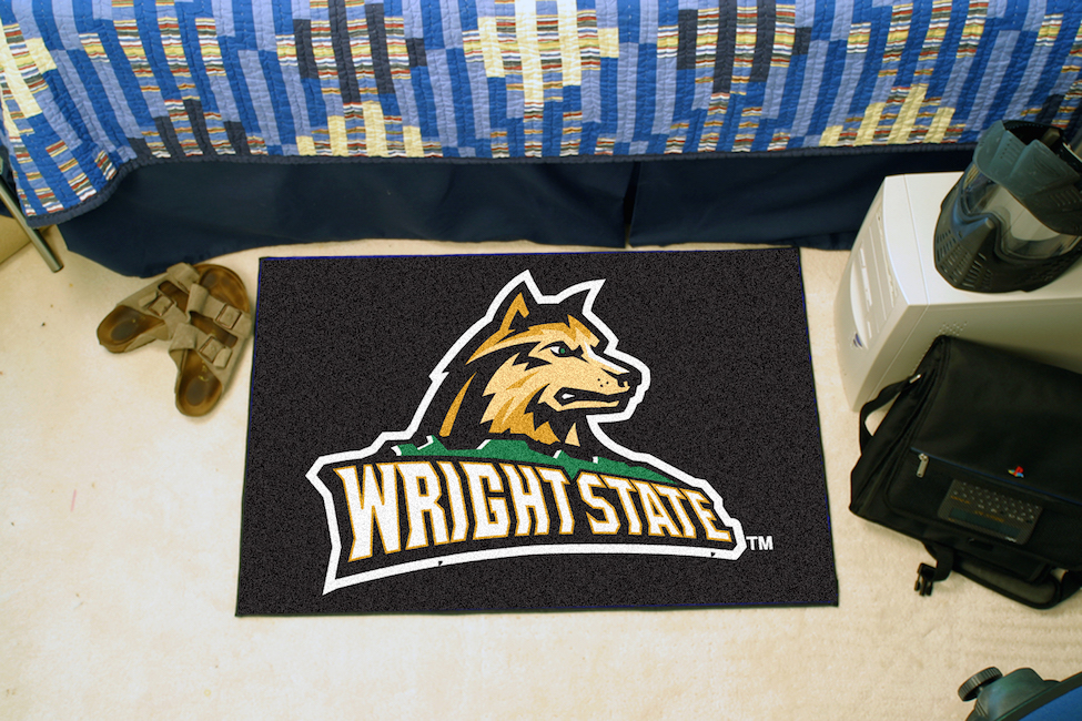 Wright State Raiders 20 x 30 STARTER Floor Mat