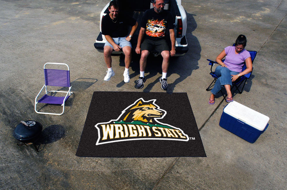 Wright State Raiders TAILGATER 60 x 72 Rug
