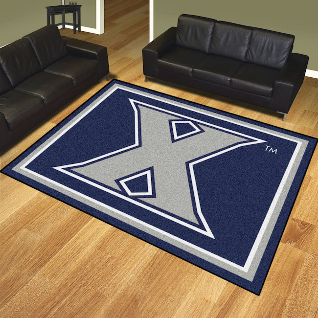 Xavier Musketeers Ultra Plush 8x10 Area Rug