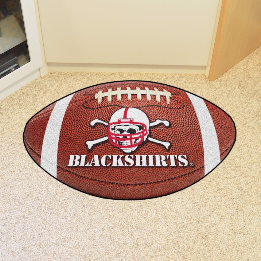 Nebraska Cornhuskers BLACKSHIRTS 22 x 35 FOOTBALL Mat